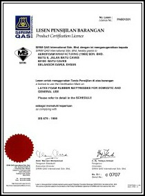 SIRIM cert small